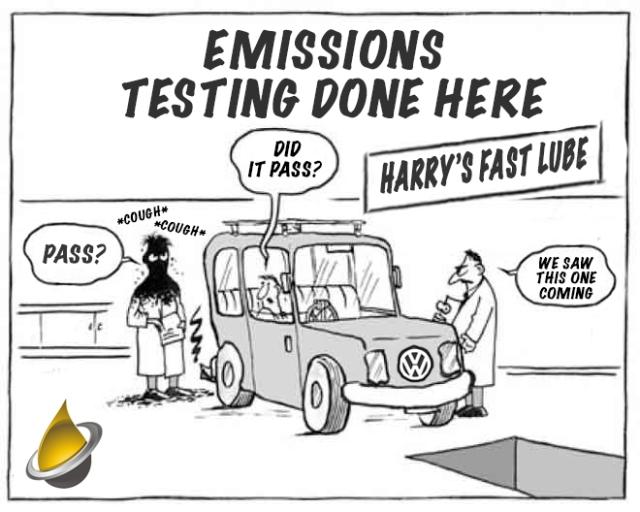 volkswagon emissions testing